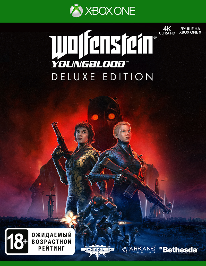 Wolfenstein: Youngblood. Deluxe Edition (Xbox One) (GameReplay)