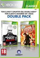 2в1 Splinter Cell: Double Agent + Rainbow Six Vegas (Xbox 360)