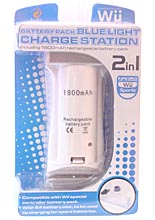 Blue Light Charge Station (with batt.pack 1800mAh)