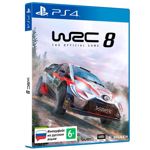 WRC 8 Стандартное издание (PS4) (GameReplay)