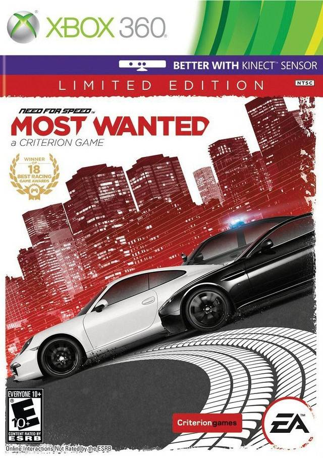 Need for Speed Most Wanted Limited Edition (Xbox 360)