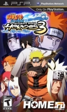 Naruto: Ultimate Ninja Heroes 3 (PSP)