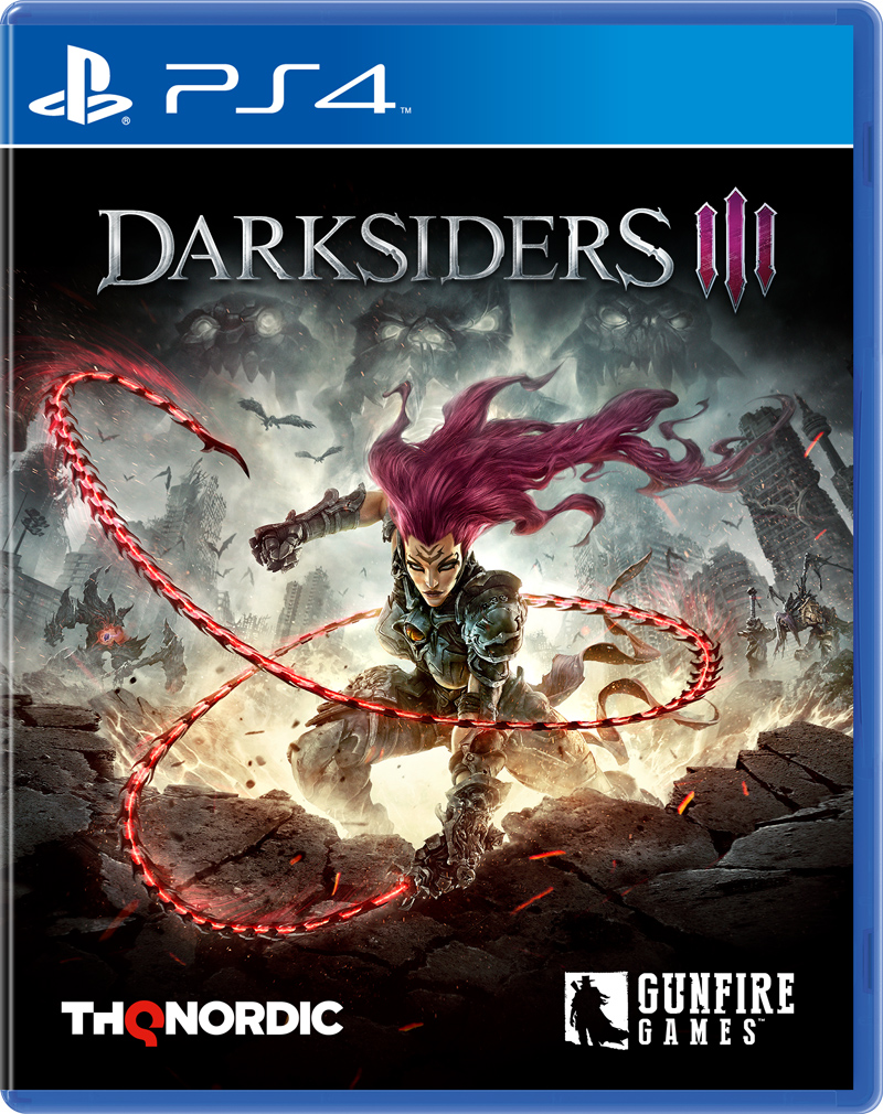 Darksiders III. Стандартное издание (PS4) (GameReplay)