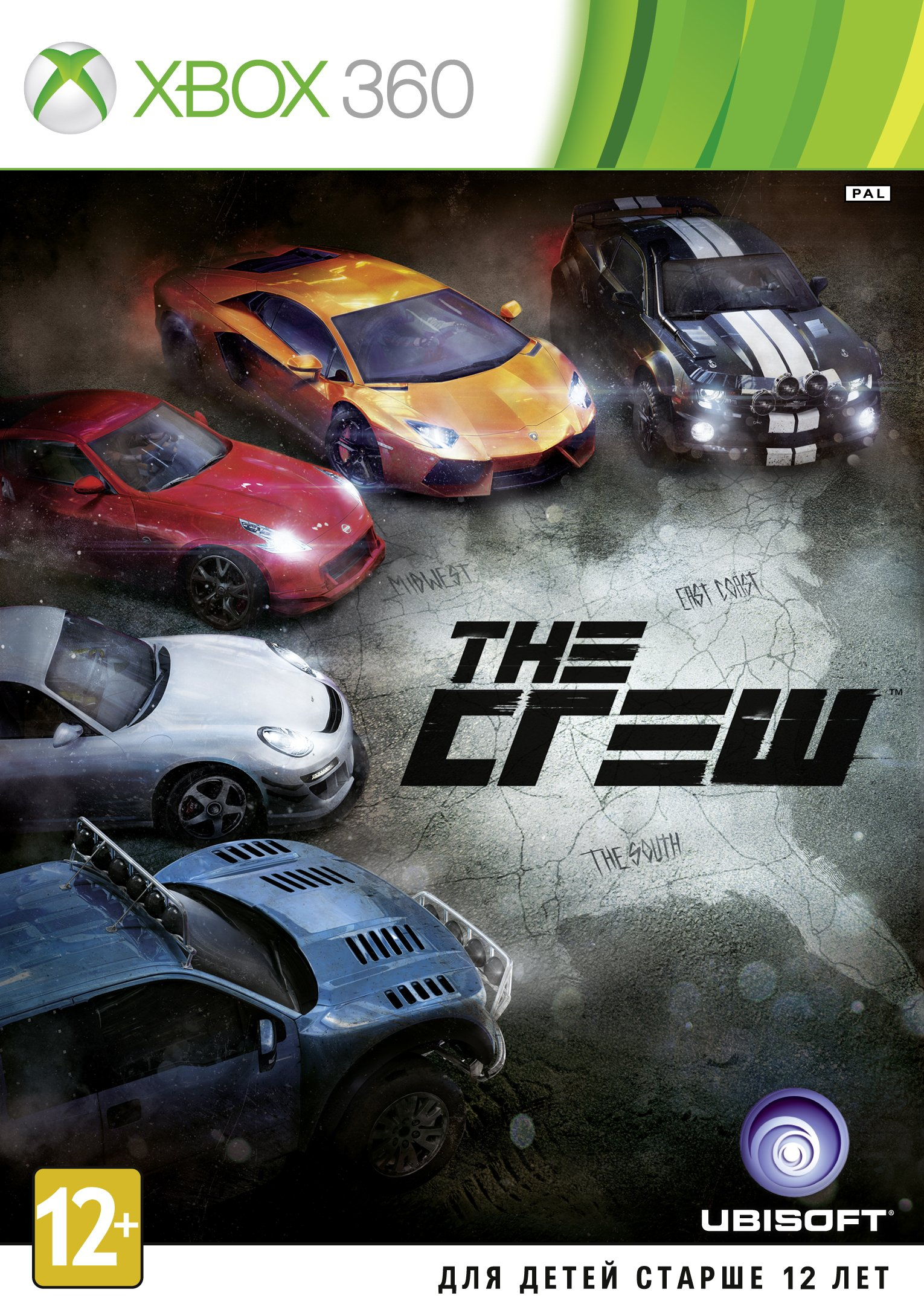 The Crew (Xbox360) (GameReplay)