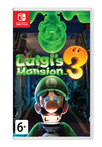 Luigi's Mansion 3 (Nintendo Switch) (GameReplay)