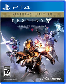Destiny: The Taken King. Legendary Edition (PS4)