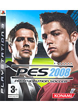 Pro Evolution Soccer 2008 (PS3)