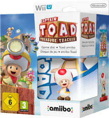 Captain Toad: Treasure Tracker + Фигурка Amiibo Toad