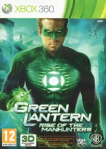 Green Lantern: Rise of Manhunters (Зелёный фонарь) (Xbox 360)