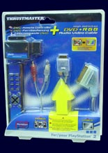 PS2 DVD RC + HD DVD RGB Cable /Trustmaster/