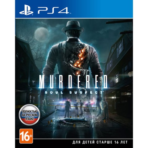Murdered: Soul Suspect (PS4) (GameReplay)