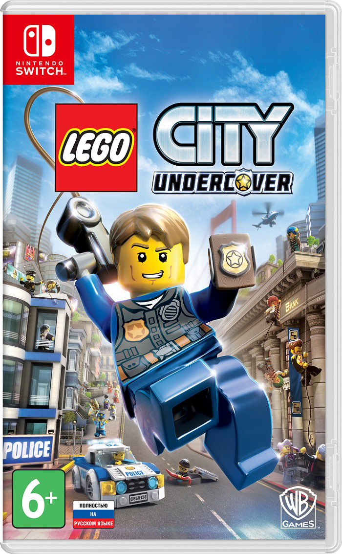 LEGO City Undercover (Switch) (GameReplay)