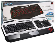 Клавиатура S.T.R.I.K.E.3 игровая RUS White (PC)