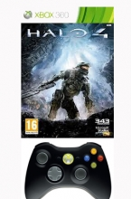 Controller Wireless + Halo 4 (Xbox 360)