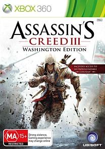Assassin's Creed 3. Издание Вашингтон (Xbox 360)