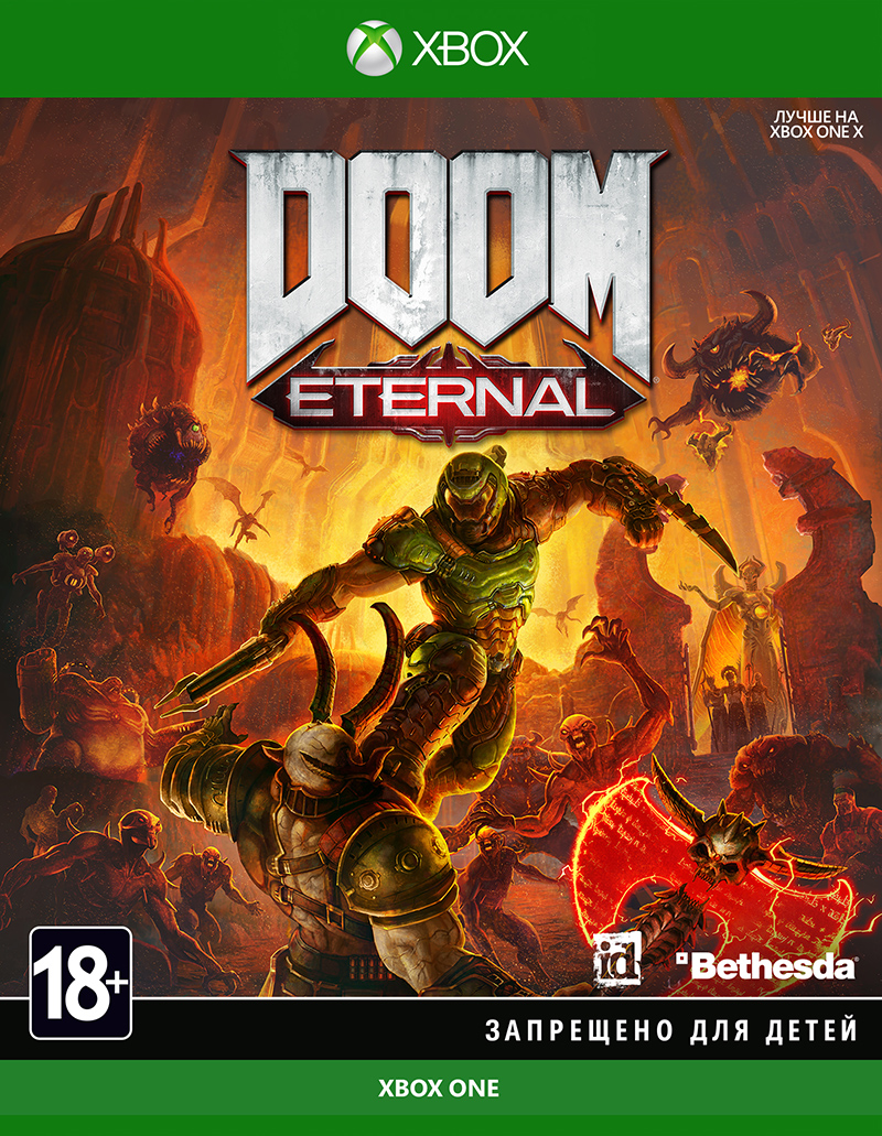 DOOM Eternal (Xbox One) (GameReplay)