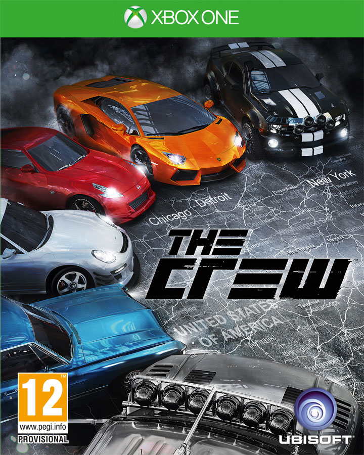 The Crew (Xbox One) (GameReplay)