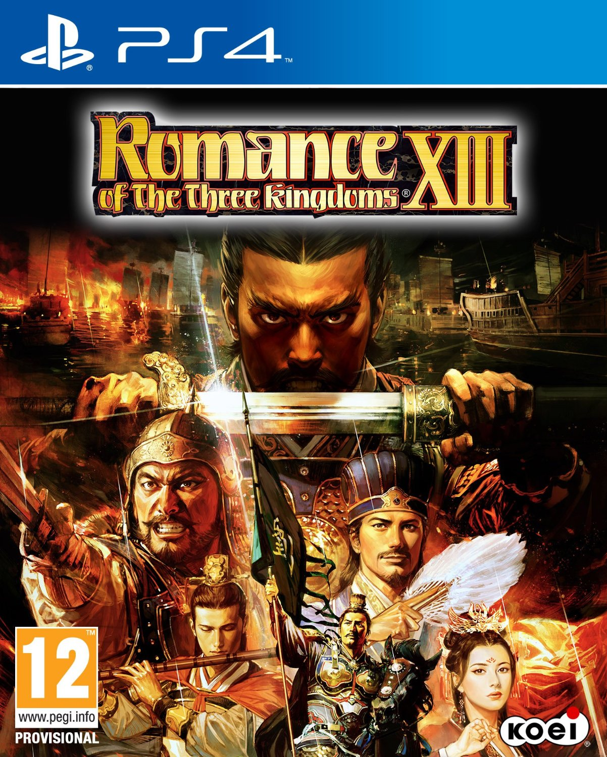 Romance of the Three Kingdoms XIII (английская версия, PS4)