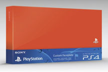 Custom Faceplate Оранжевая (PS4)