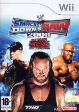 WWE SmackDown! vs. RAW 2008 (Wii)