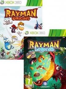 Комплект Rayman Legends + Rayman Origins (Xbox360)