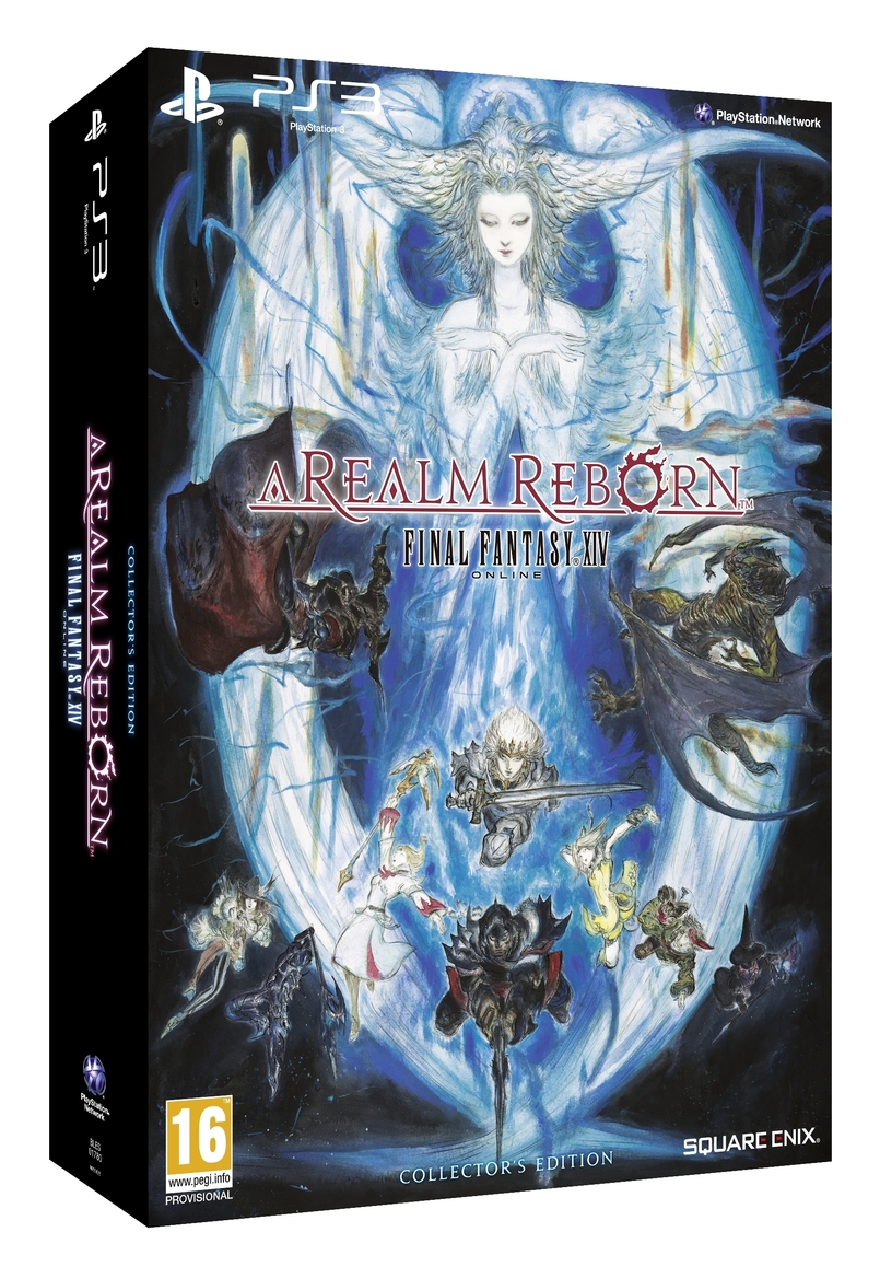 Final Fantasy XIV Online: A Realm Reborn. Collector's Edition (PS3)