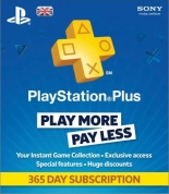 Подписка на PlayStation Plus - 365 дней от GamePark.ru