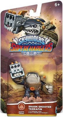 Skylanders SuperChargers Суперзаряд Shark Shooter Terrafin