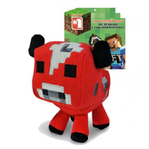 Мягкая Игрушка Minecraft: Baby Mooshroom (18см)