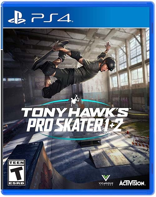 Tony Hawk's Pro Skater 1 + 2 (PS4) (GameReplay)