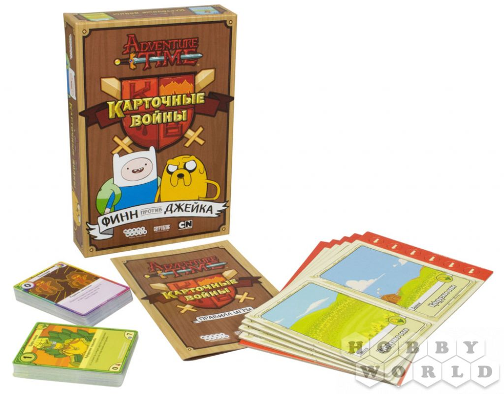 игра время приключений карточные войны