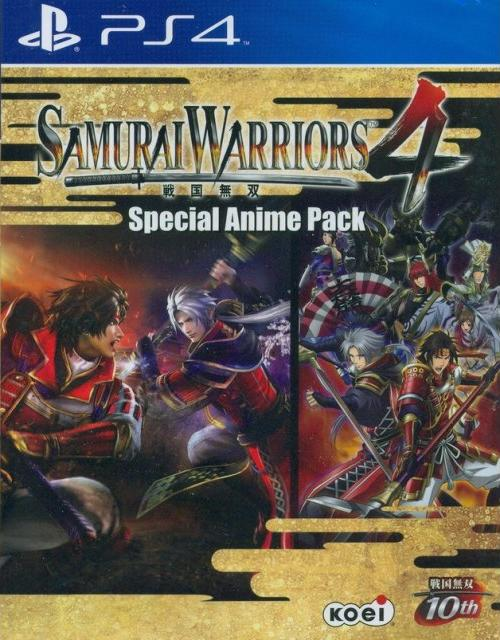 Samurai Warriors 4 Special Anime Pack (PS4)