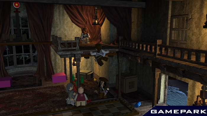 Скриншот lego пираты карибского моря ps3
