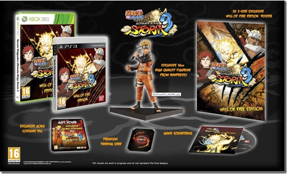 Naruto Shippuden: Ultimate Ninja Storm 3 Will of Fire Edition (Xbox 360)