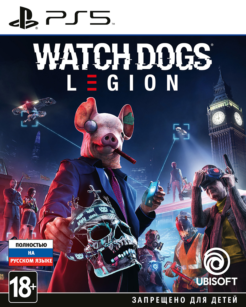 Watch_Dogs: Legion (PS5) (GameReplay)