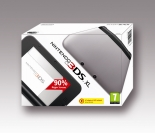 Nintendo 3DS XL HW Black + Silver