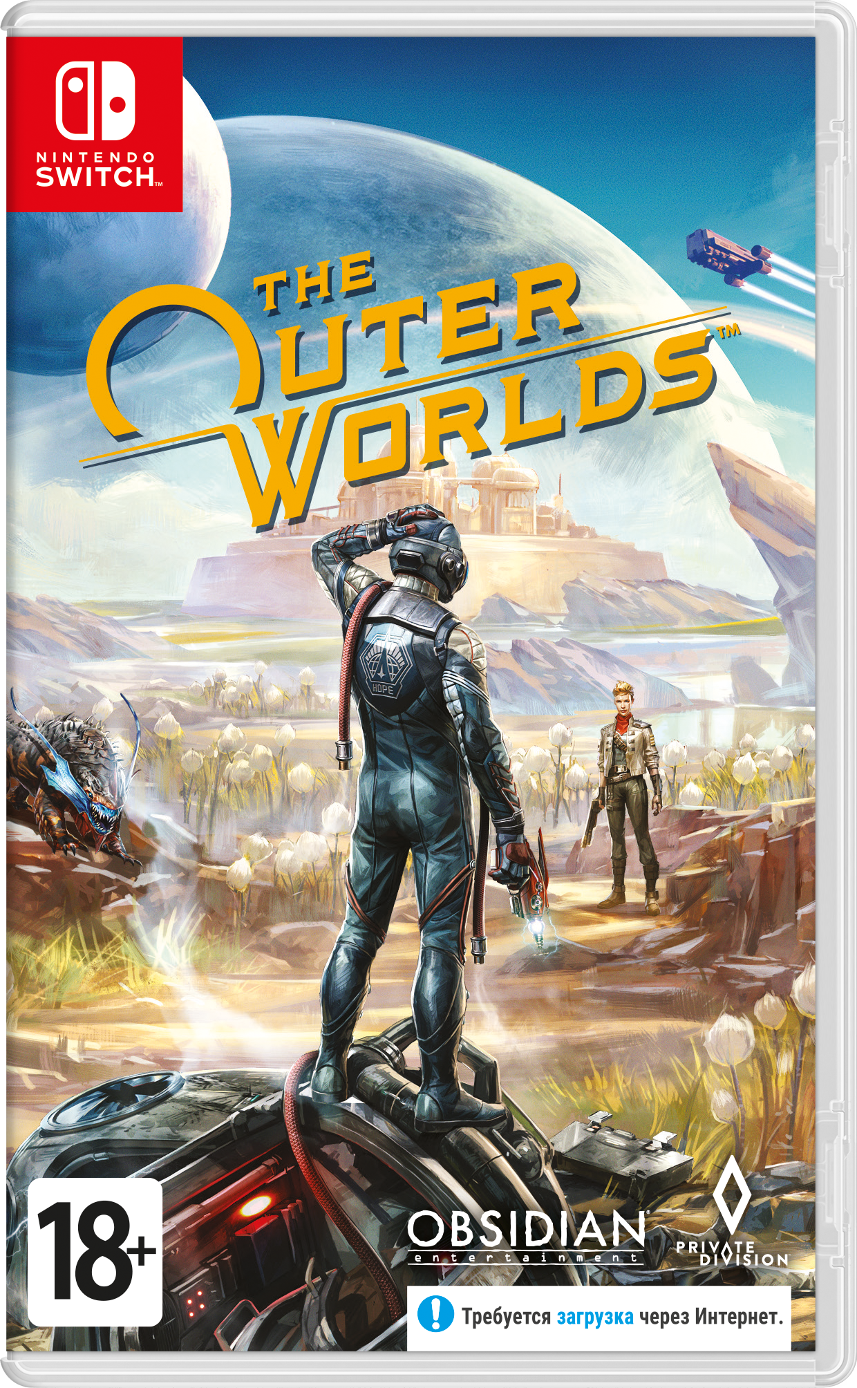 The Outer Worlds (Nintendo Switch) (GameReplay)