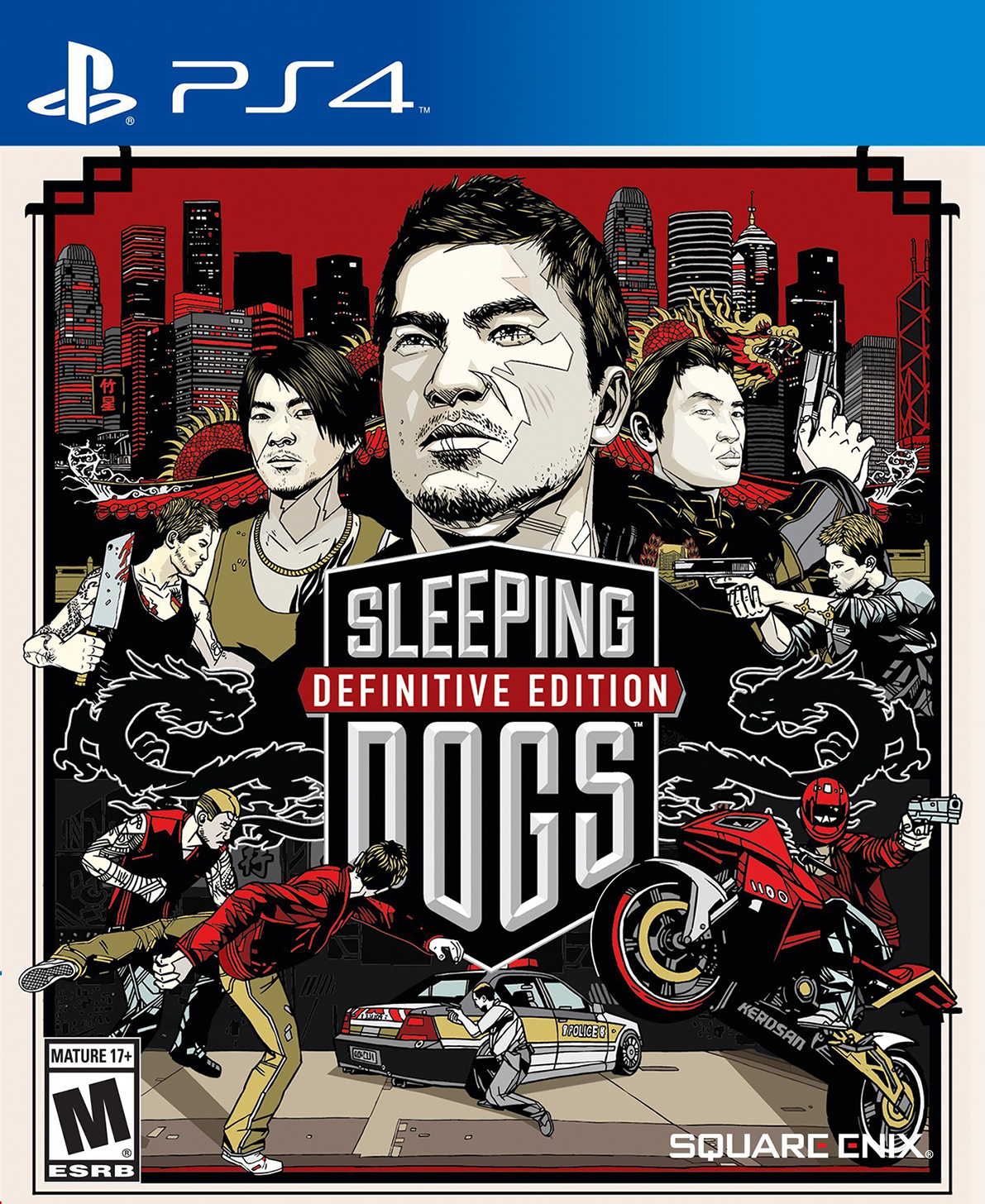 Sleeping Dogs: Definitive Edition (PS4) (GameReplay)