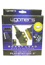 Gold Plated Scart Lead (4 Games)
