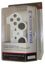 Controller Wireless Dual Shock 3 White (PS3)