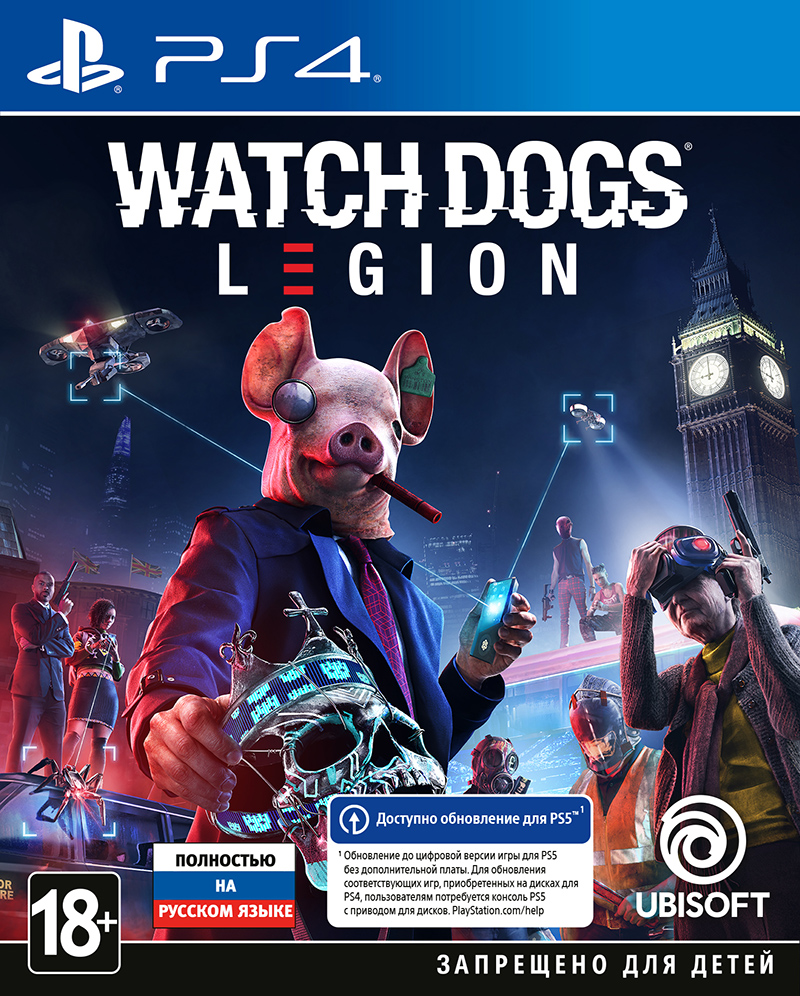 Watch Dogs: Legion (PS4) (GameReplay)
