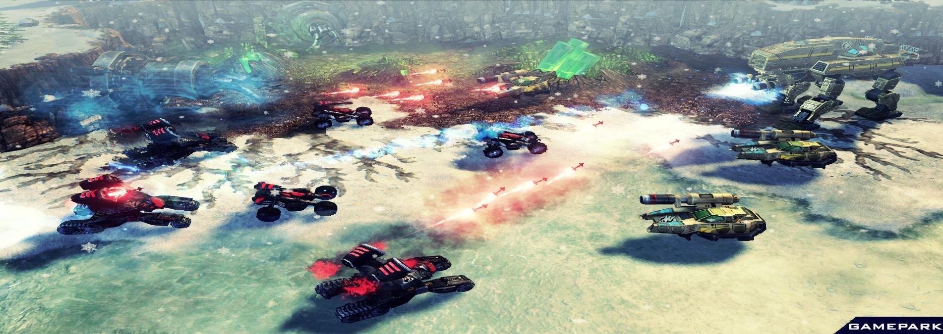 17.11.2009 дополнить скриншоты к Command & Conquer 4: Tiberian Twilight.