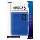 Футляр для хранения 12 игровых флэшкарт (синий)