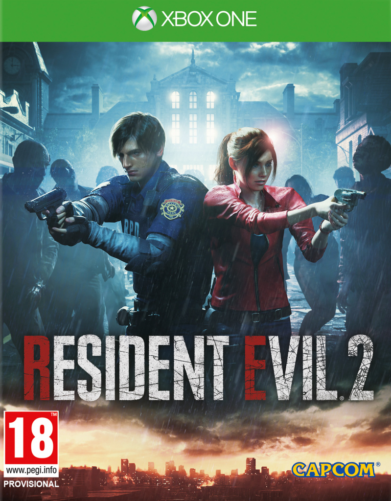 Resident Evil 2 (Xbox One) (GameReplay)