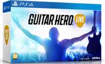Guitar Hero Live Bundle Гитара + игра (PS4)