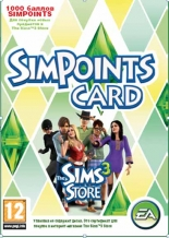 Sims 3 SimPoints CARD - 1000 баллов - (Цифровой код)