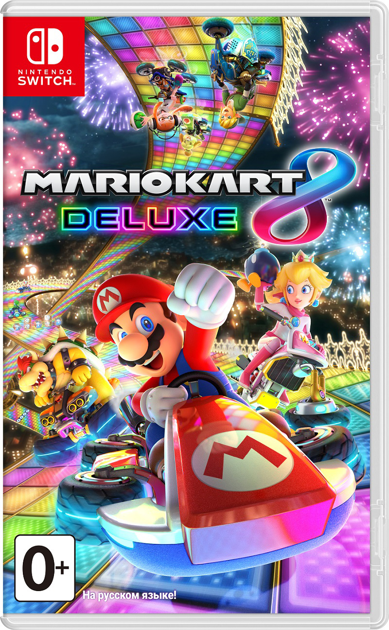 Mario Kart 8 Deluxe (Nintendo Switch) (GameReplay)
