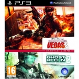 Tom Clancy's Rainbow Six Vegas 2 + Tom Clancy's Ghost Recon Advanced Warfighter 2 Double Pack (PS3)