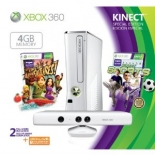 Xbox 360 Special Edition 4GB Kinect Sports Bundle (белый)