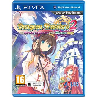 Dungeon Travelers 2: The Royal Lybrary & The Monster Seal (английская версия, PS Vita)